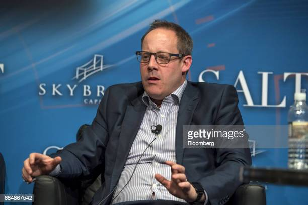 John Bryant chief technology officer of Options Information Technology LLC speaks at the Skybridge Alternatives conference in Las Vegas Nevada US on...