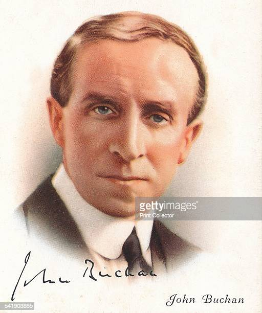 John Buchan Scottish novelist historian and Unionist politician who served as Governor General of Canada 1937 He created Baron Tweedsmuir Cigarette...