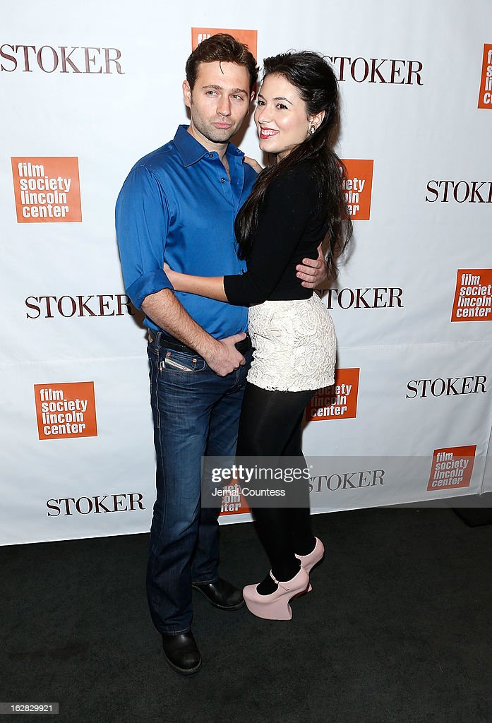 John Buffalo Mailer and Katrina attend the 'Stoker' New York Screening at The Film Society of Lincoln Center, Walter Reade Theatre on February 27, 2013 in New York City.