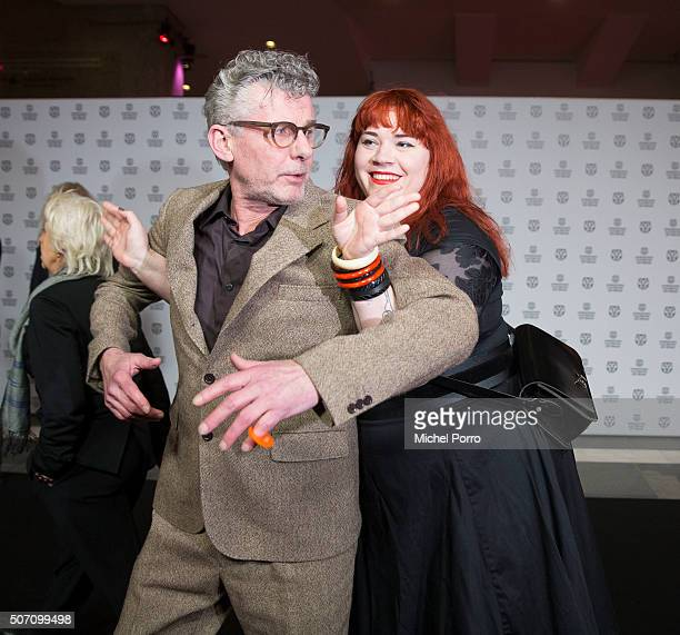 John Buijsman and Ari Deelder attend the opening of the Rotterdam International Film Festival on January 27 2016 in Rotterdam Netherlands