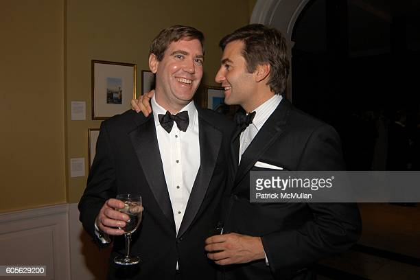 John Burke and Euan Rellie attend The Museum of The City of New York The Directors Council 20th Annual Winter Ball at The Museum of The City of New...
