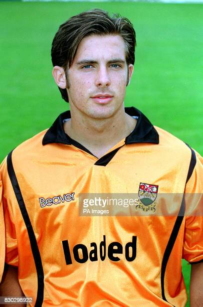 John Butterfield of Barnet football club prior to the 19992000 season