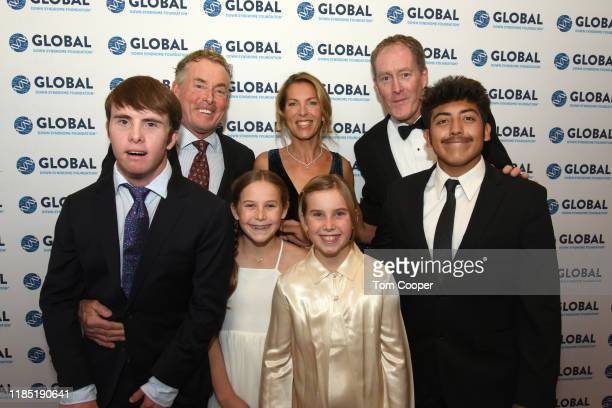 John C McGinley and family at the Global Down Syndrome Foundation's Be Beautiful Be Yourself Fashion Show at Sheraton Denver Downtown Hotel on...