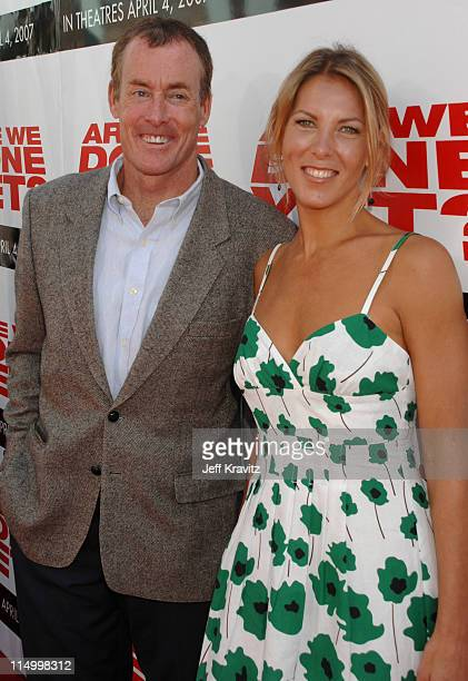 John C McGinley and Nichole Kessler during Are We Done Yet Los Angeles Premiere Red Carpet at Mann Village Theater in Westwood California United...