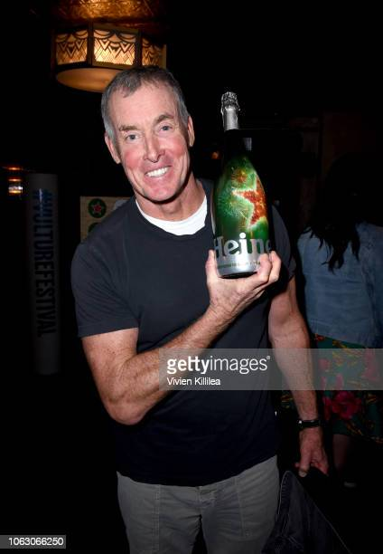 John C McGinley attends the Heineken Green Room during Vulture Festival presented by ATT at Hollywood Roosevelt Hotel on November 17 2018 in...