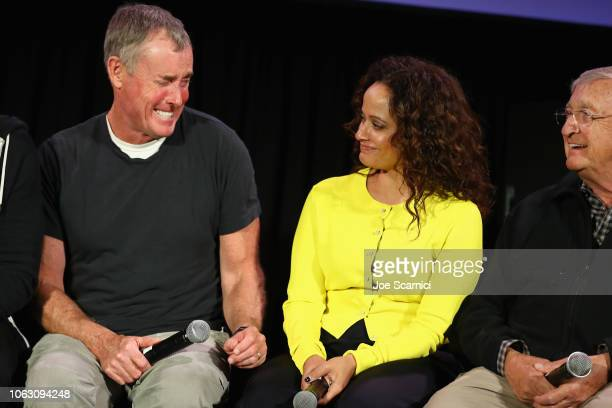 John C McGinley Judy Reyes and Ken Jenkins attend 'Scrubs Reunion' during Vulture Festival presented by ATT at Hollywood Roosevelt Hotel on November...