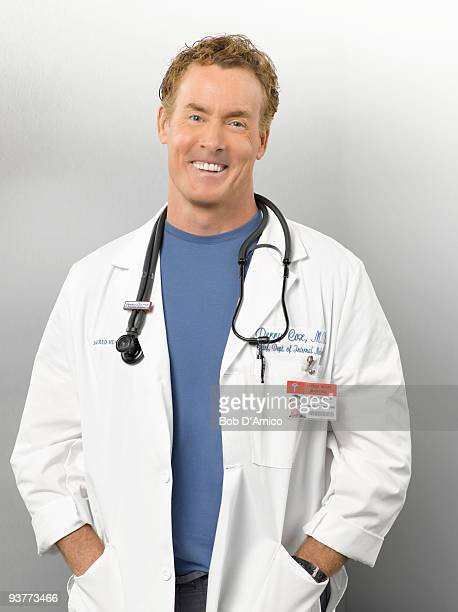 SCRUBS John C McGinley stars as Dr Perry Cox in the ABC Television Network's 'Scrubs'