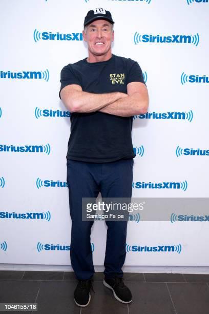 John C McGinley visits SiriusXM Studios on October 5 2018 in New York City