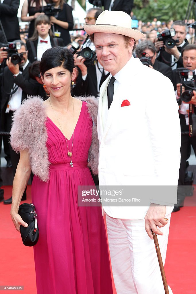 John C. Reilly, Alison Dickey attend the closing ceremony and 'Le Glace Et Le Ciel' ('Ice And The Sky') premiere during the 68th annual Cannes Film Festival on May 24, 2015 in Cannes, France.