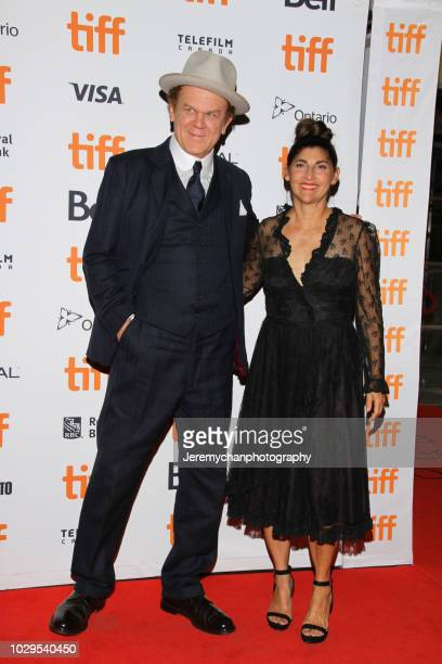 John C Reilly and Alison Dickey attend the 'The Sisters Brothers' Premiere during the 2018 Toronto International Film Festival at Princess of Wales...