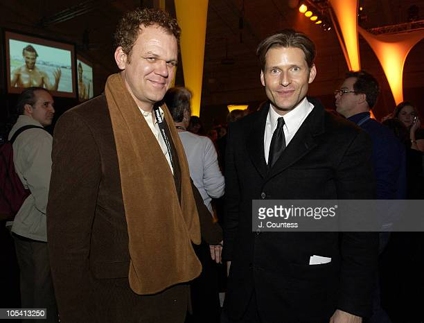 John C. Reilly and Crispin Glover during 2005 Sundance Film Festival - Awards Ceremony - After Party at Racquet Club Theatre in Park City, Utah,...