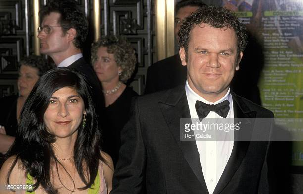 John C Reilly and his wife Alison Dickey during 54th Annual Tony Awards at Radio City Music Hall in New York City New York United States