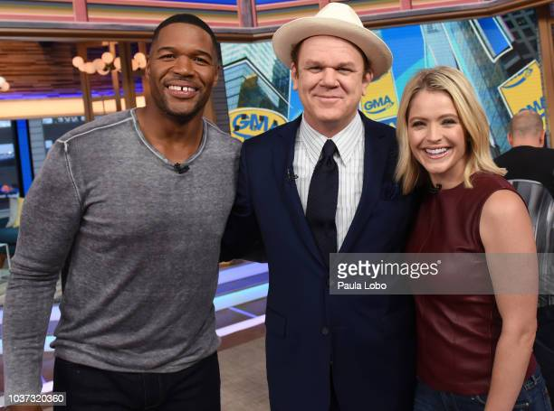 GMA DAY John C Reilly and Shemar Moore are guests on GMA DAY Friday September 21 2018 GMA Day airs MondayFriday on the Walt Disney Television via...