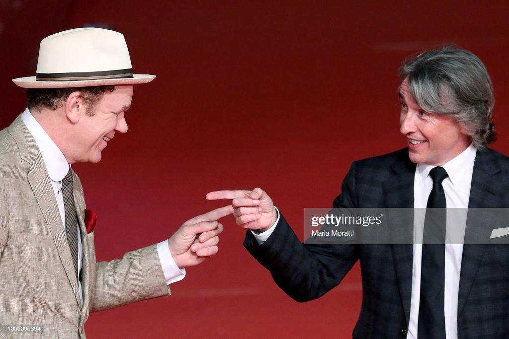 """Stan & Ollie"" Red Carpet Arrivals - 13th Rome Film Fest : News Photo"