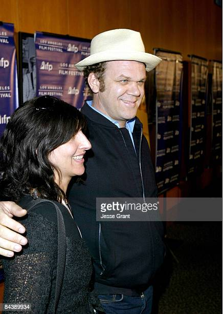 John C Reilly and wife Alison Dickey