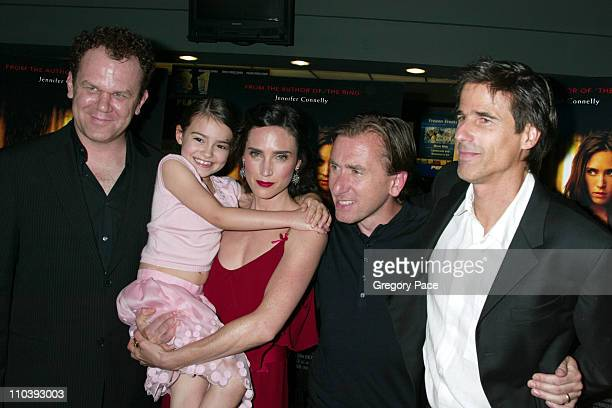 John C Reilly Ariel Gade Jennifer Connelly Tim Roth and Walter Salles director