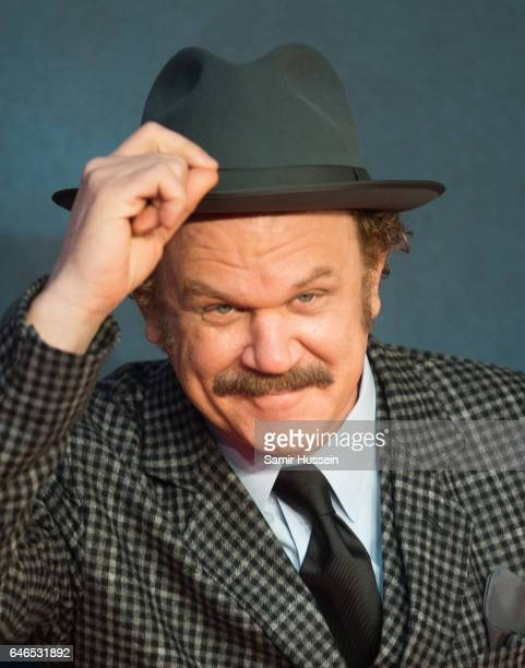 John C Reilly attends the European premiere Of 'Kong Skull Island' on February 28 2017 in London United Kingdom