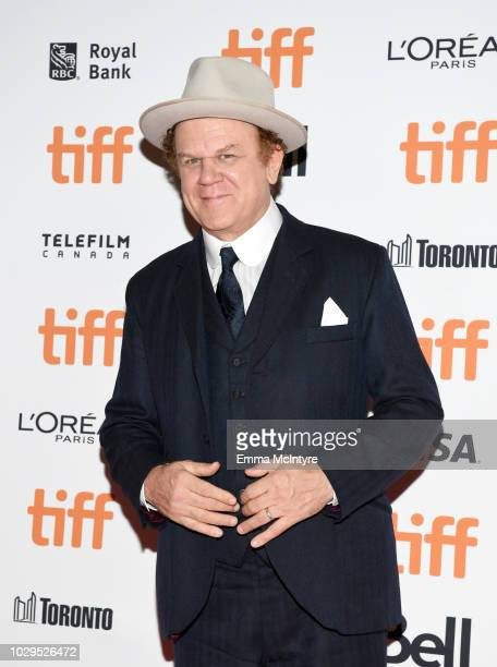 John C Reilly attends the The Sisters Brothers premiere during 2018 Toronto International Film Festival at Princess of Wales Theatre on September 8...
