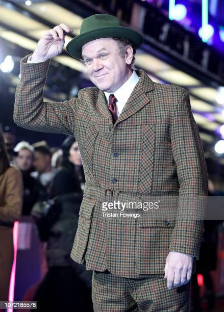 John C Reilly attends the UK Premiere of Disney's Ralph Breaks The Internet at the Curzon Mayfair on November 25 2018 in London United Kingdom