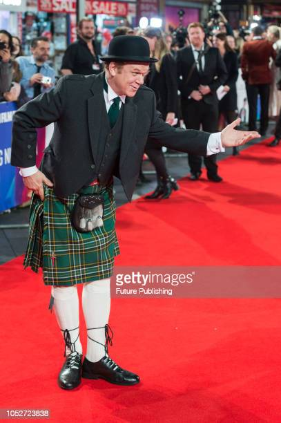 John C Reilly attends the World Premiere of 'Stan & Ollie' at Cineworld, Leicester Square, during the 62nd London Film Festival Closing Night Gala....