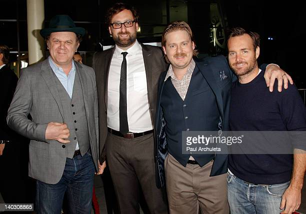 John C Reilly Eric Wareheim Tim Heidecker and Will Forte attend the 'Tim Eric'$ Billion Dollar Movie' Los Angeles premiere at the ArcLight Hollywood...