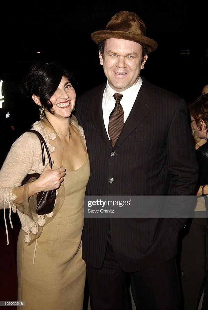 John C. Reilly & guest during 'Chicago' Premiere in Los Angeles at The Academy in Beverly Hills, California, United States.