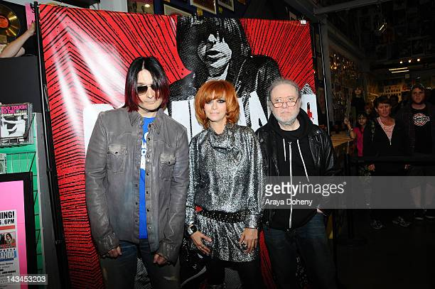 John Cafiero Linda Ramone and Tommy Ramone sign copies of the newly released Commando The Autobiography of Johnny Ramone at Amoeba Music on April 26...