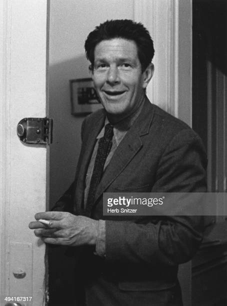 John Cage poses for a portrait in 1959 in New York New York