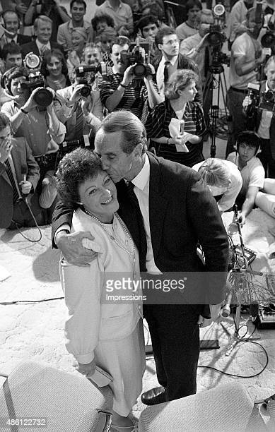 John Cain Australian Labor Party politician was the 41st Premier of Victoria holding office from 1982 to 1990 with wife Nancye