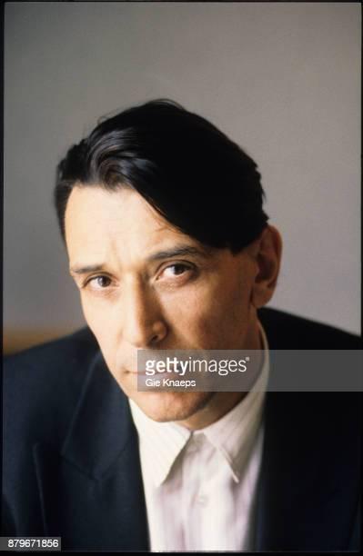 John Cale portrait Royal Windsor Hotel Brussels Belgium 11th May 1990