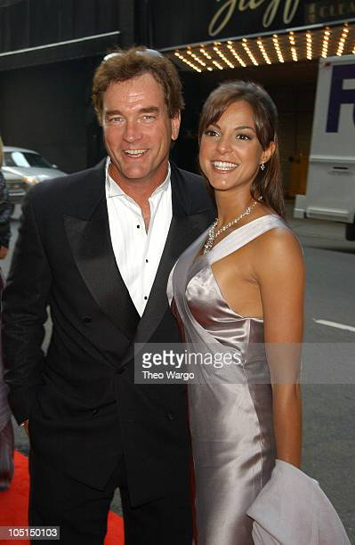 John Callahan and Eva La Rue Callahan during 2003 Gracie Allen Awards Gala: American Women in Radio and Television at The New York Hilton Hotel in...