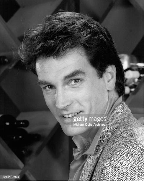 John Callahan stars as Eric Stavros on the television series 'Falcon Crest', 1981.