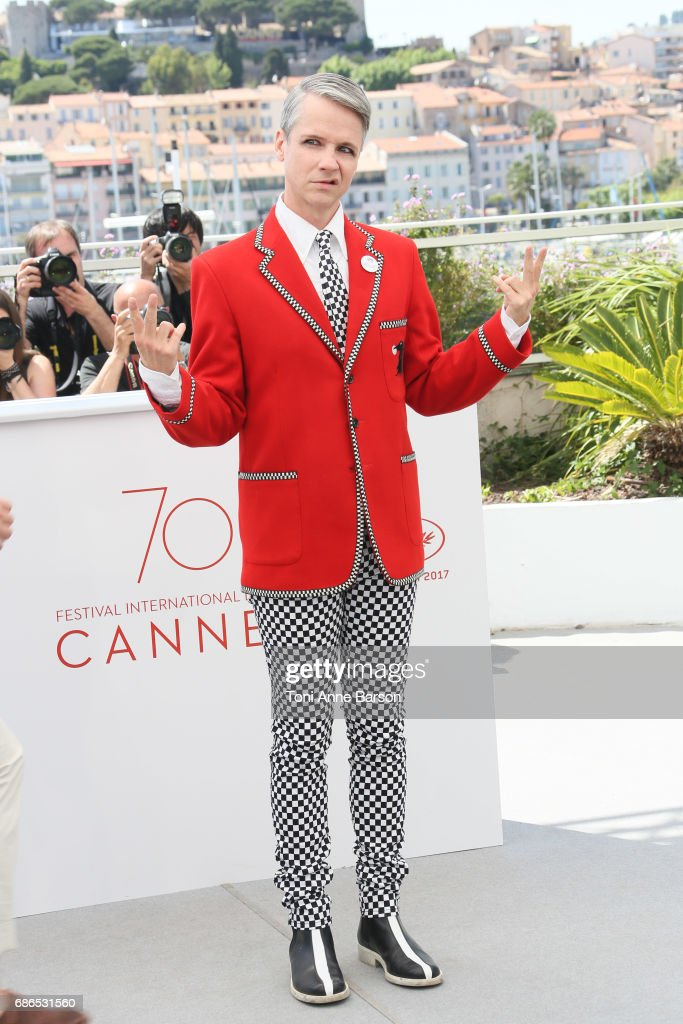 John Cameron attends the 'How To Talk To Girls At Parties' Photocall during the 70th annual Cannes Film Festival at Palais des Festivals on May 21, 2017 in Cannes, France.