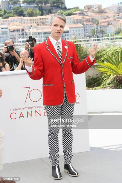 John Cameron attends the 'How To Talk To Girls At Parties' Photocall during the 70th annual Cannes Film Festival at Palais des Festivals on May 21...