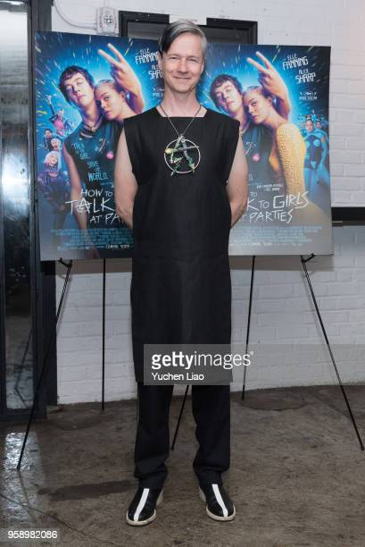 John Cameron Mitchell attends 'How To Talk To Girls At Parties' New York Premiere at Metrograph on May 15 2018 in New York City