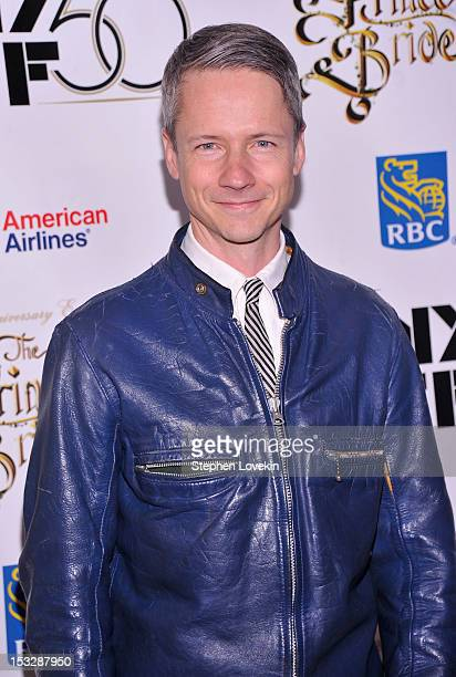 John Cameron Mitchell attends the 25th anniversary screening cast reunion of 'The Princess Bride' during the 50th New York Film Festival at Alice...