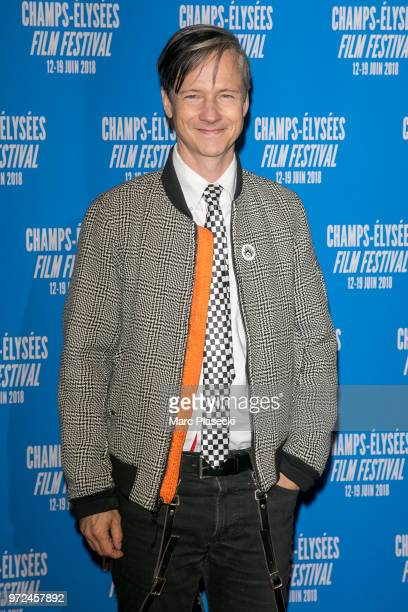 John Cameron Mitchell attends the 7th Champs Elysees Film Festival at Cinema Gaumont Marignan on June 12 2018 in Paris France