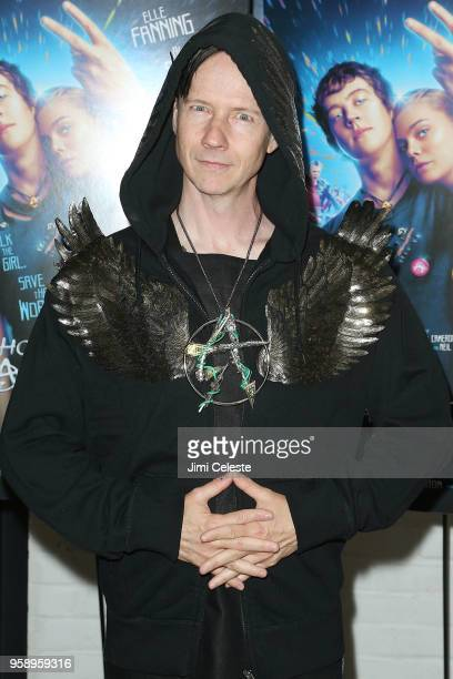John Cameron Mitchell attends the New York premiere of 'How to Talk to Girls at Parties' at Metrograph on May 15 2018 in New York City