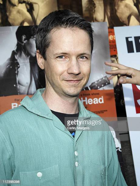 John Cameron Mitchell during Brothers of the Head New York Premiere at IFC Theater in New York City New York United States