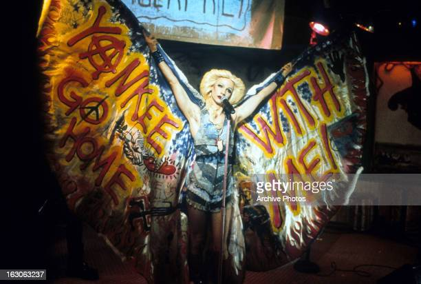 John Cameron Mitchell performs in a scene from the film 'Hedwig And The Angry Inch' 2001