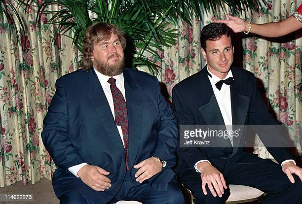 John Candy and Bob Saget during Cool Comedy Hot Cuisine Scleroderma Research Foundation Benefit at Regent Beverly Wilshire Hotel in Beverly Hills CA...