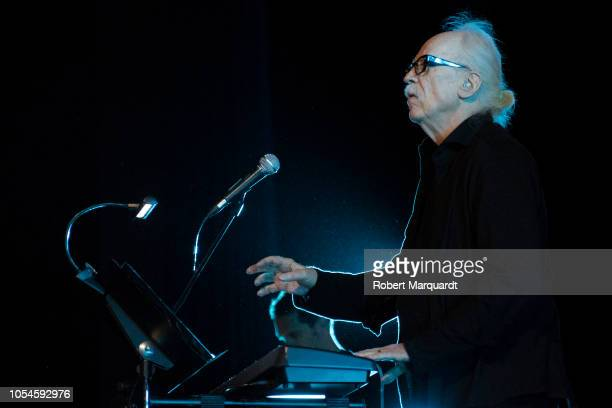 John Carpenter performs in concert his movie themes during the Sitges Film Festival 2018 held at the Hotel Melia on October 13 2018 in Sitges Spain