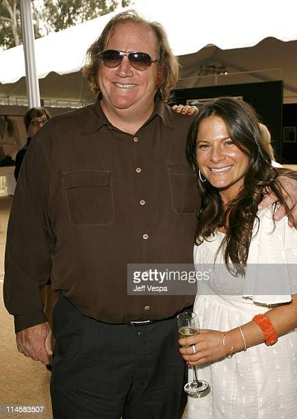 John Carrabino and Ashlee Margolis during Coach Fragrance Launch to Benefit EBMRF in Los Angeles California United States