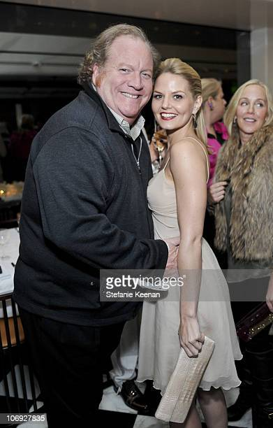 John Carrabino and Jennifer Morrison attend the Santiago Gonzalez Dinner at Mr Chow on November 16 2010 in Beverly Hills California