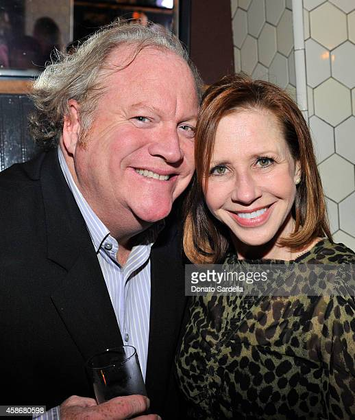 John Carrabino and Jill Matson attend Chris McMillan Celebrates His Birthday And Recent Nuptials Hosted By Linda Wells Allure Magazine at Escuela...