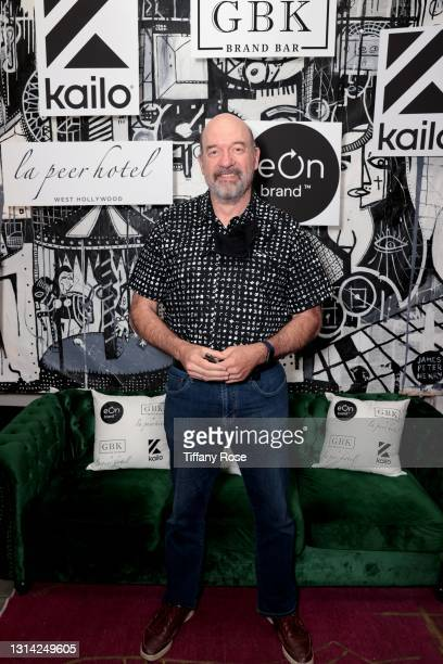 John Carroll Lynch attends the EON Mist Sanitizer Pre-Oscars Lounge presented by GBK Brand Bar at La Peer Hotel on April 24, 2021 in Los Angeles,...