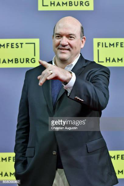 John Carroll Lynch attends the premiere of 'Lucky' during the opening night of Hamburg Film Festival 2017 at Cinemaxx Dammtor on October 5 2017 in...