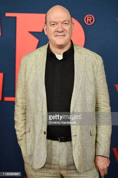 John Carroll Lynch attends the Veep Season 7 premiere at Alice Tully Hall Lincoln Center on March 26 2019 in New York City