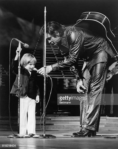 John Carter Cash 3yearold son of singer Johnny Cash became the youngest person to make a Las Vegas nightclub debut when he appeared on the stage of...