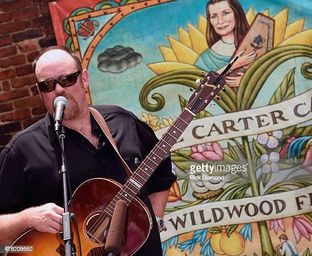John Carter Cash attends the June Carter Cash Birthday Celebration At The Opening Of The June Carter Cash Wildwood Flower Garden at The Johnny Cash...